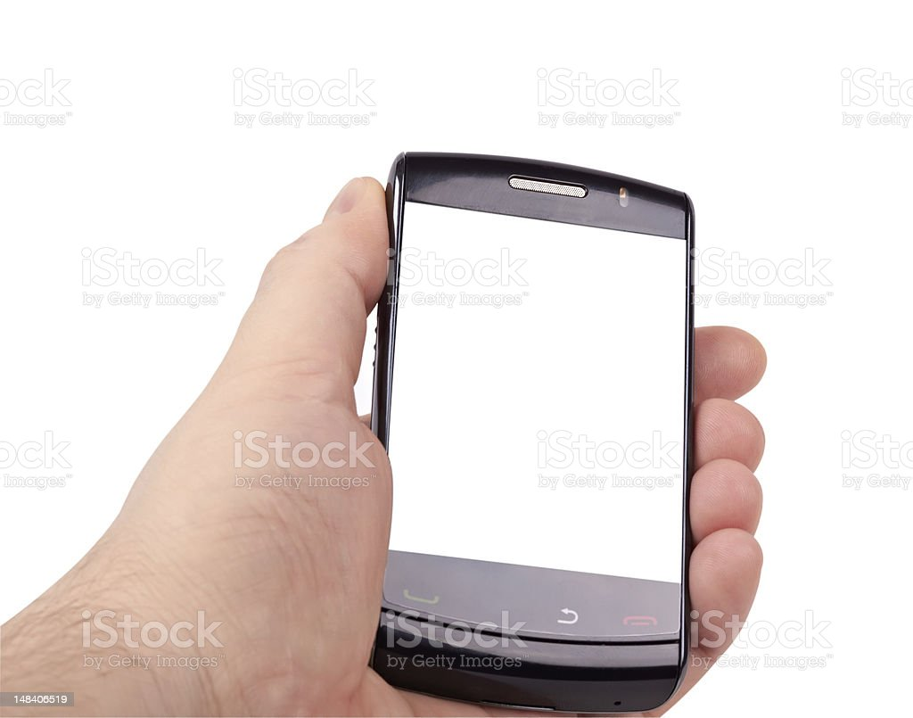 Simply smart phone royalty-free stock photo