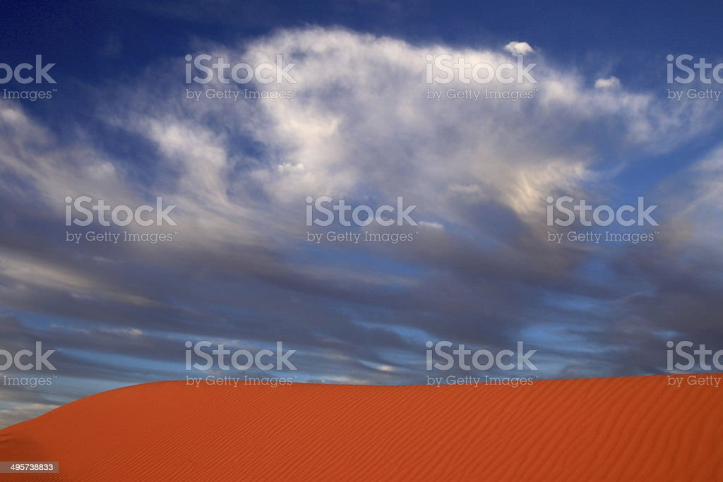 Simpson Desert Dune royalty-free stock photo