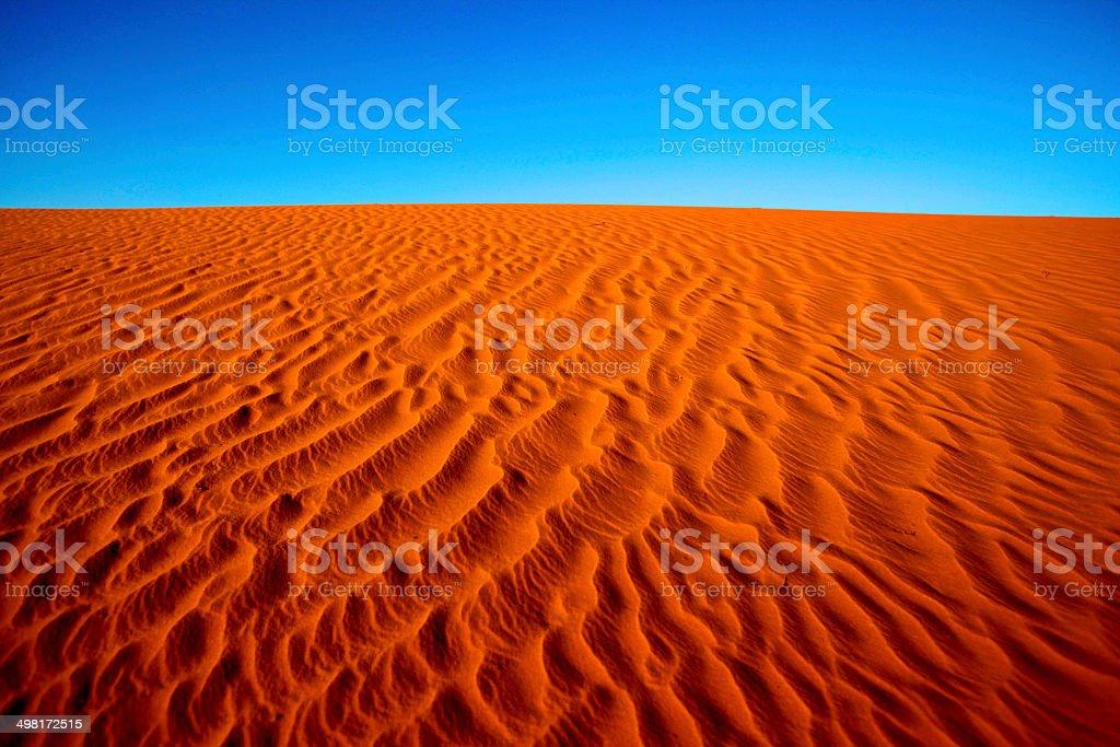 Simpson Desert Dune stock photo