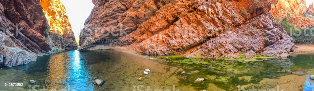 Simpsons Gap in the Northern Territory Australia stock photo
