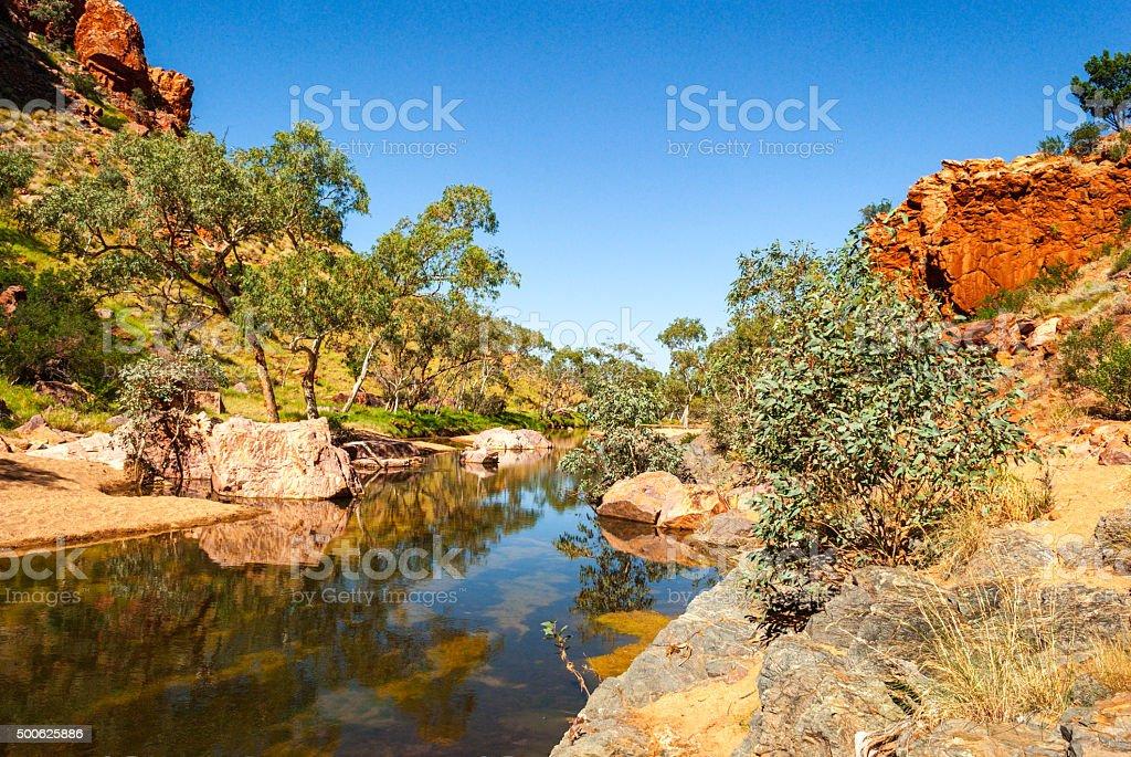 Simpsons Gap (Australia Northern Territory) stock photo