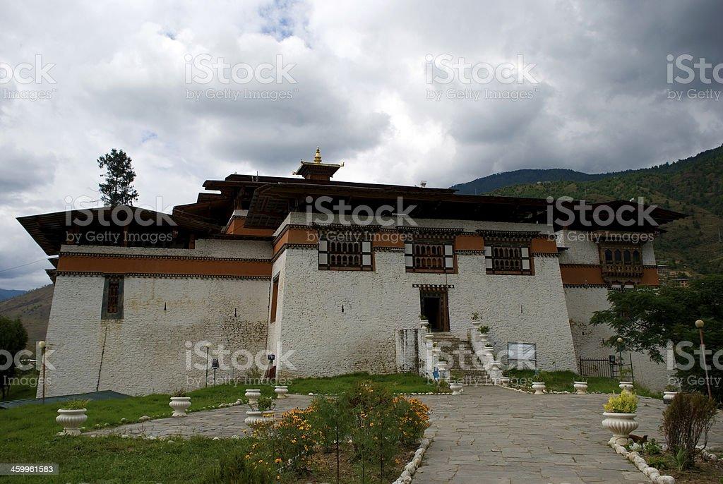 Simtokha Dzong, Bhutan stock photo