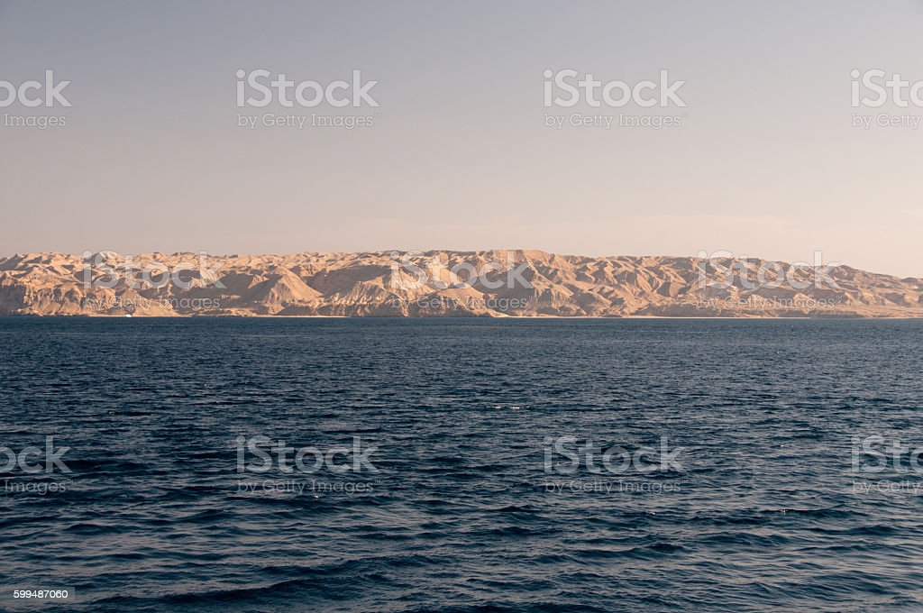 Sinai Küstenregion stock photo