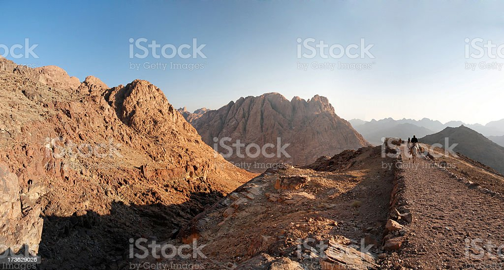 Sinai mountains royalty-free stock photo