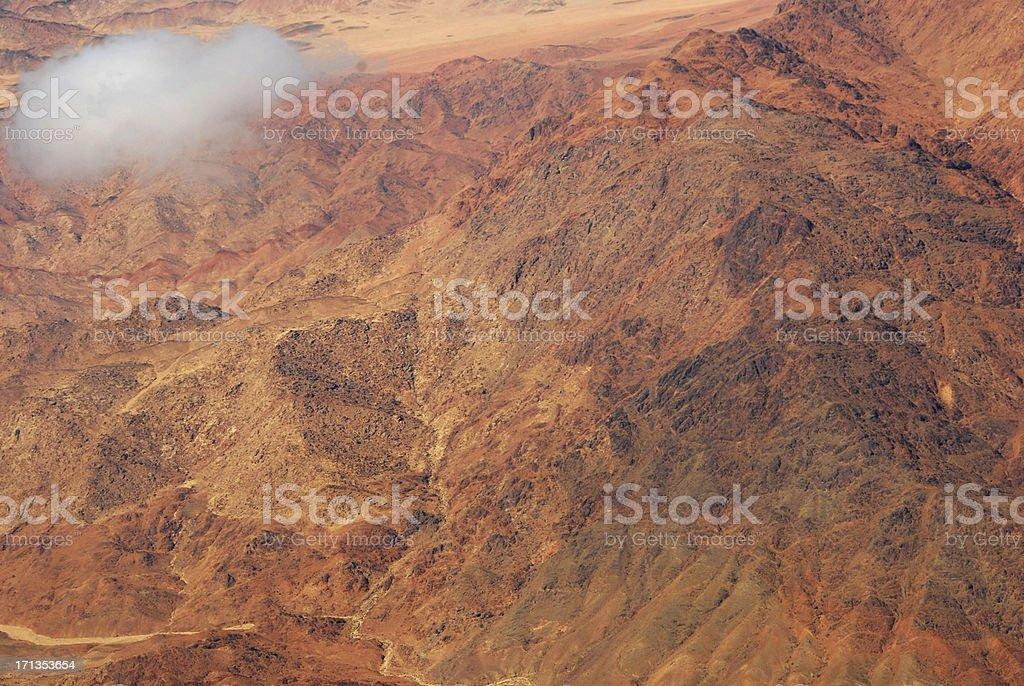 Sinai Peninsula of Egypt stock photo