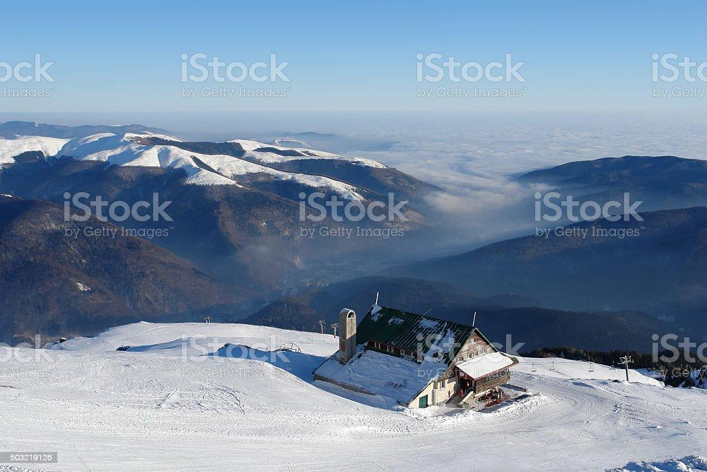 Sinaia stock photo