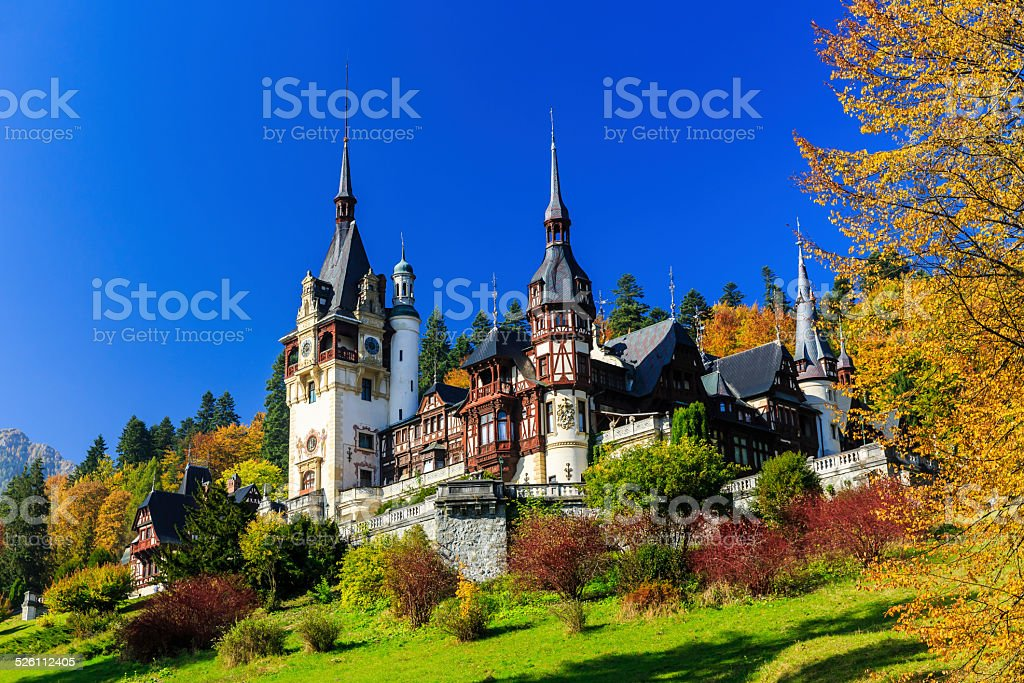 Sinaia, Romania stock photo