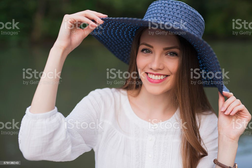 Sincere Beauty stock photo
