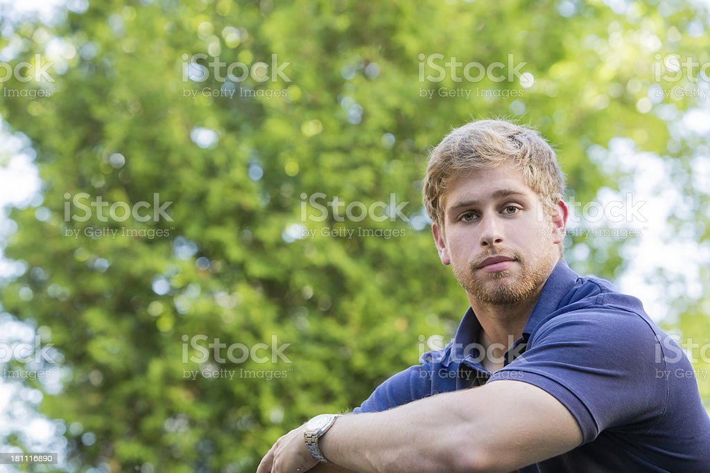 Sincere Young Man royalty-free stock photo
