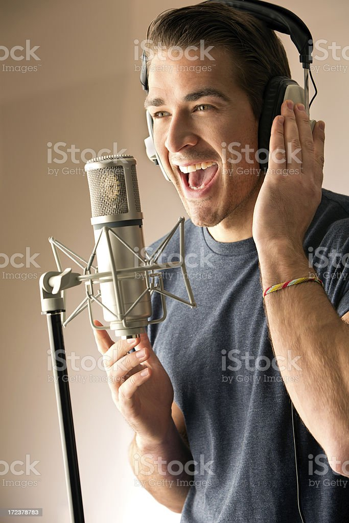 Sing Your Heart Out stock photo