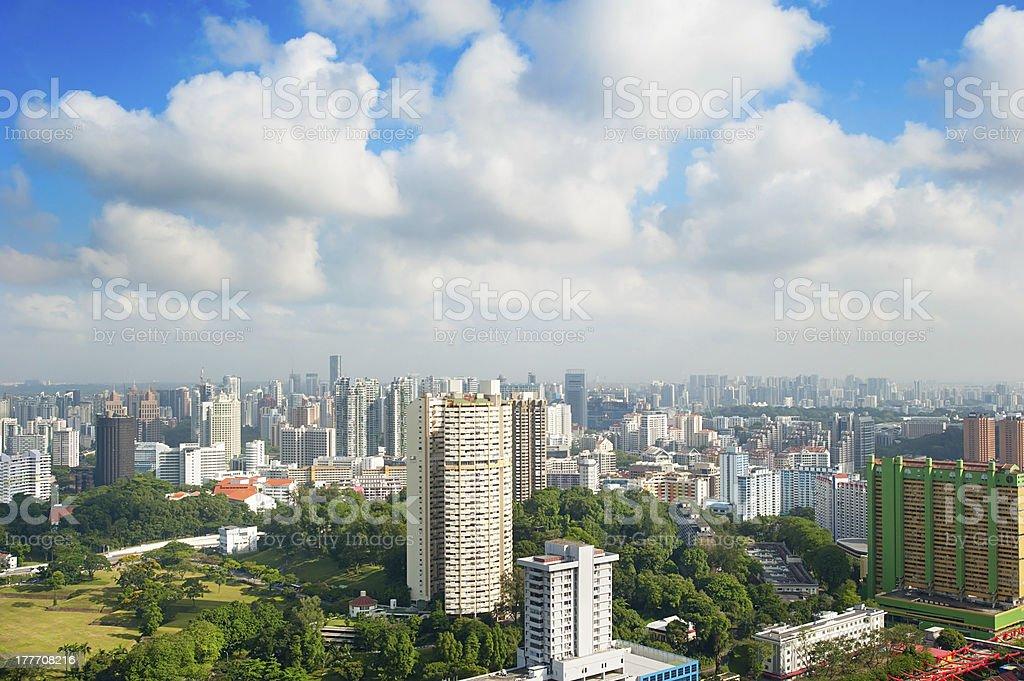 Singapore architecture royalty-free stock photo