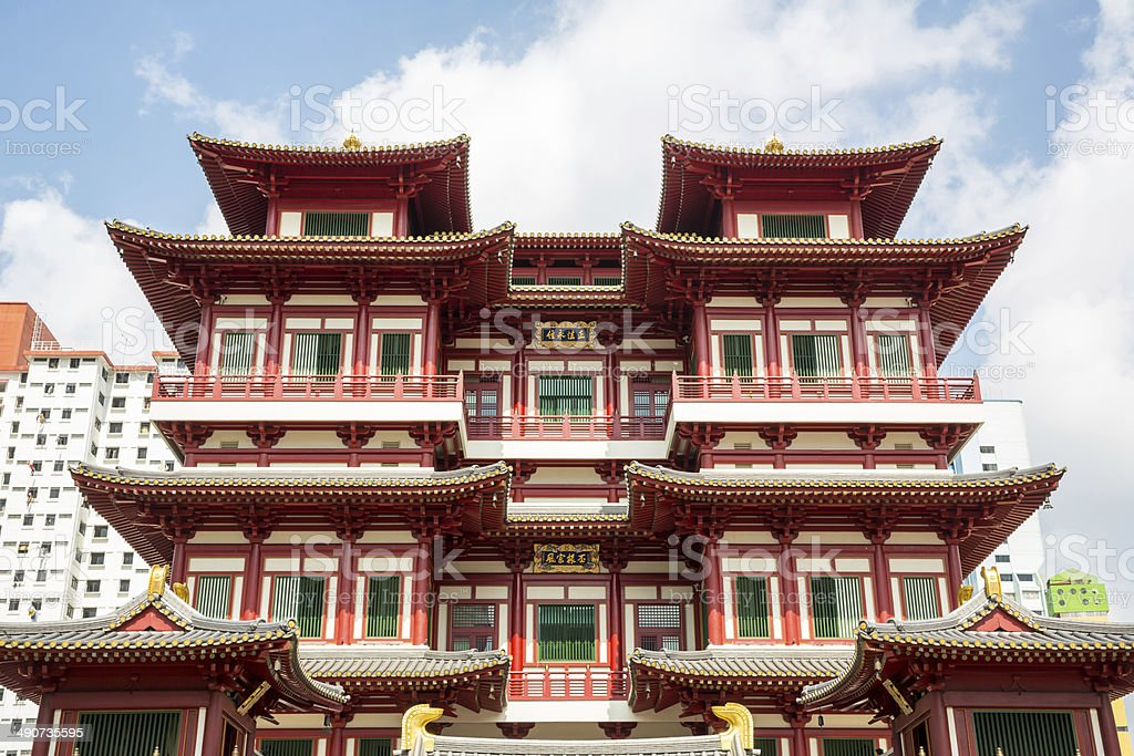 Singapore buddha tooth relic temple royalty-free stock photo