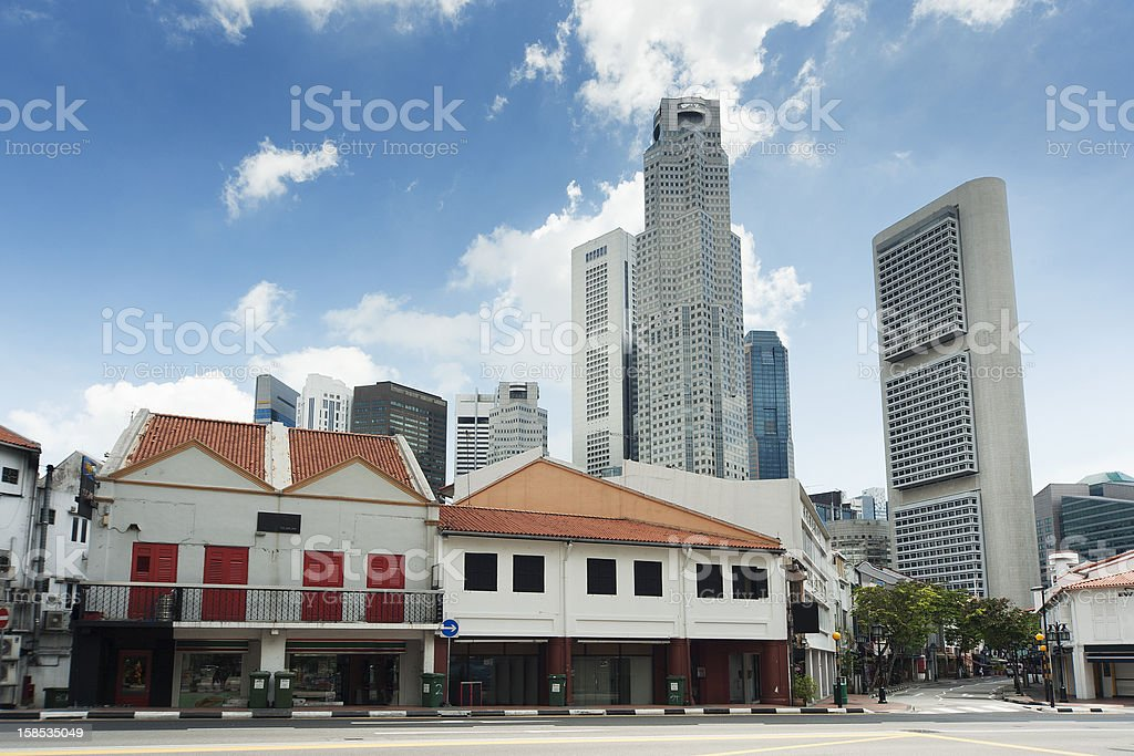 Singapore City royalty-free stock photo