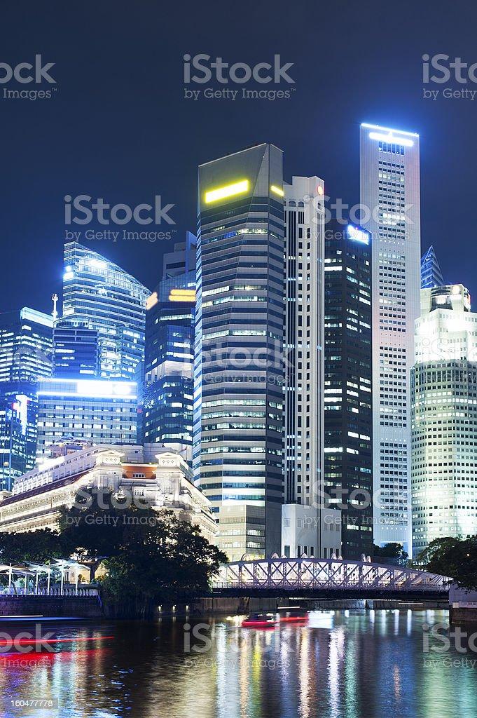 Singapore cityscape royalty-free stock photo