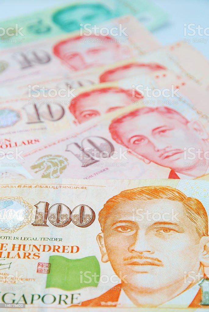 singapore dollars royalty-free stock photo