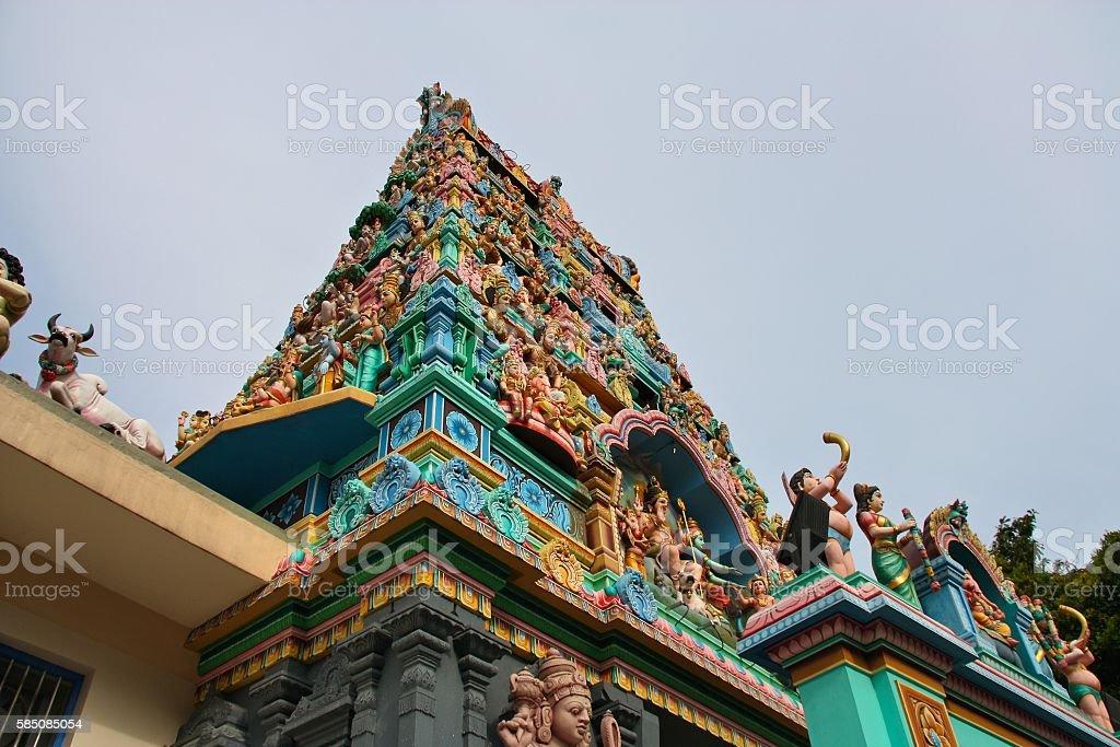 Singapore landmark stock photo