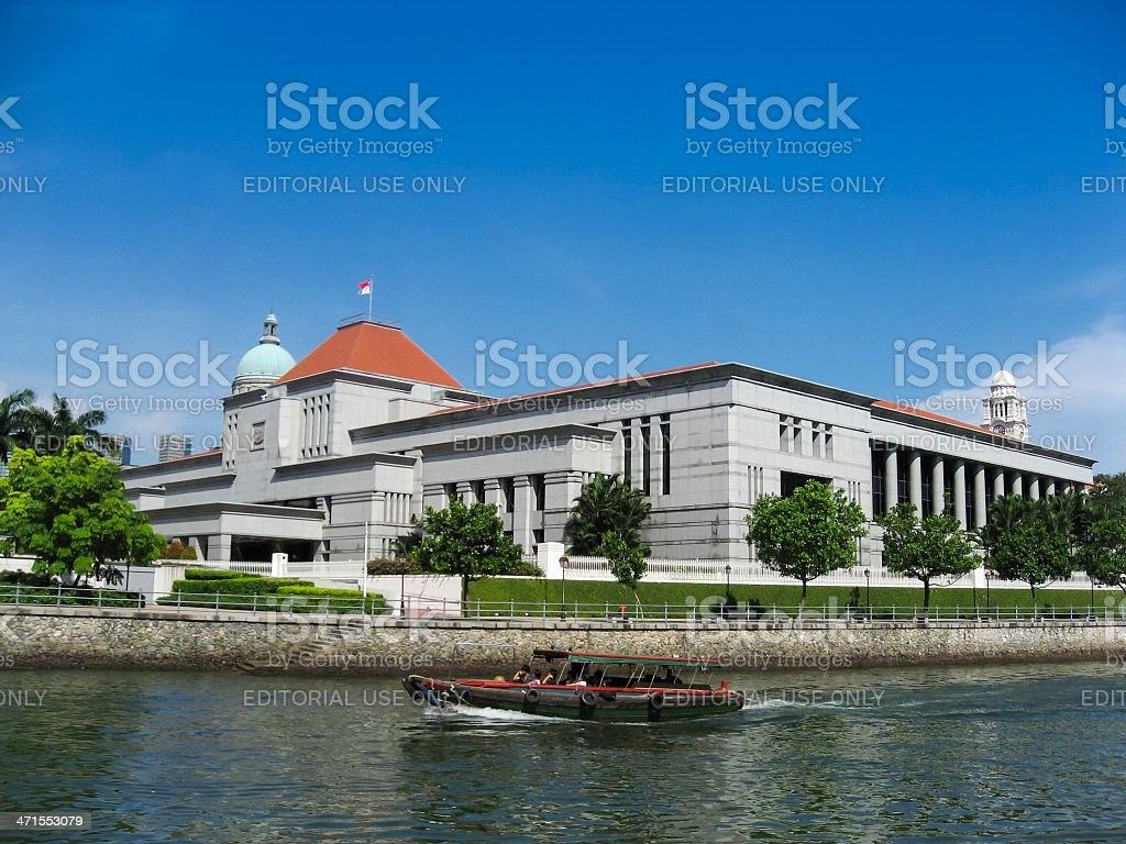 singapore law courts government buildings royalty-free stock photo