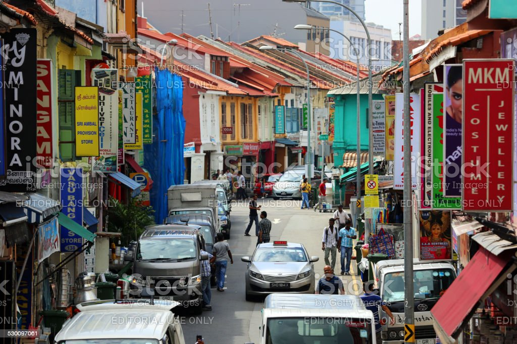 Singapore: Little India stock photo