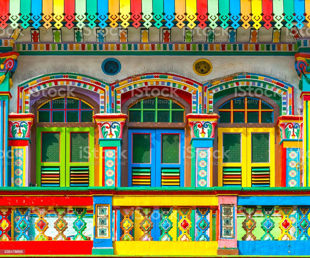 Singapore - Little India stock photo