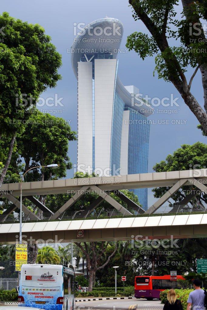 Singapore: Marina Bay Sands Hotel stock photo