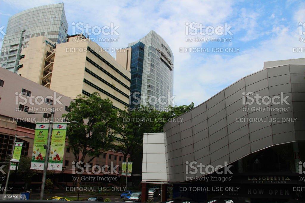 Singapore: Office Buildings stock photo