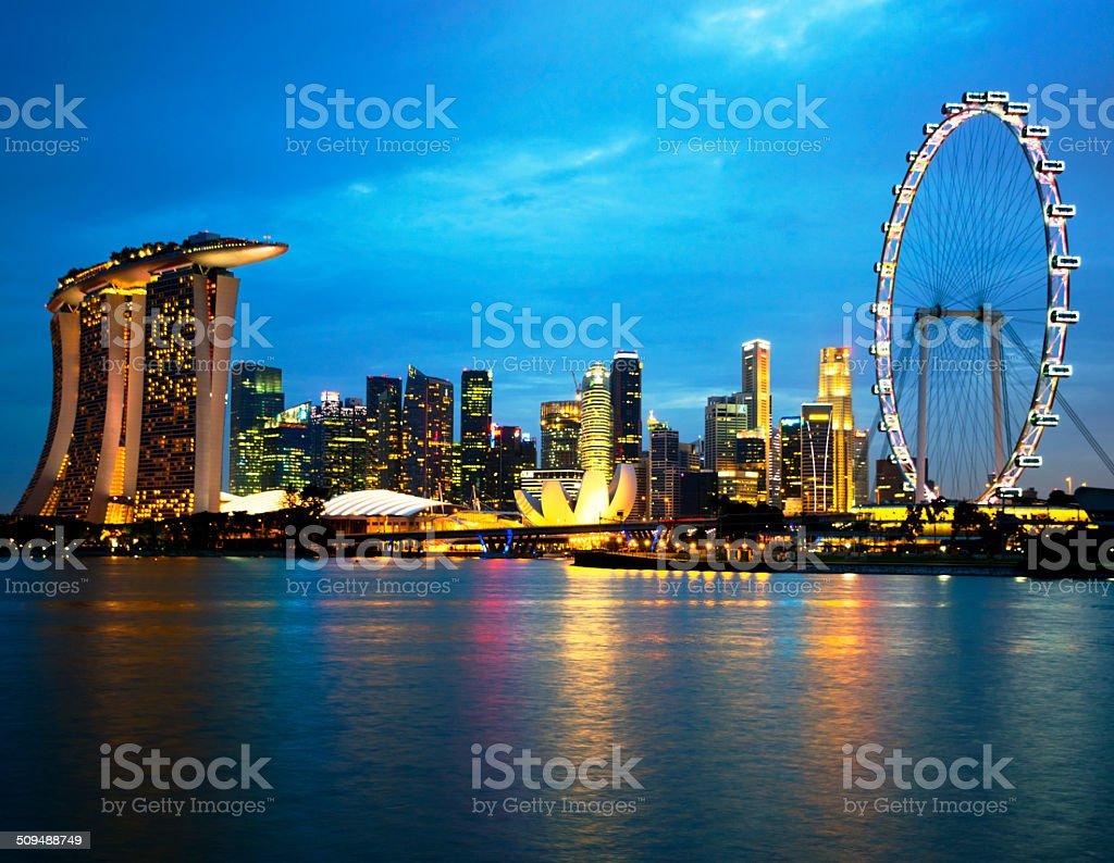 Singapore stock photo