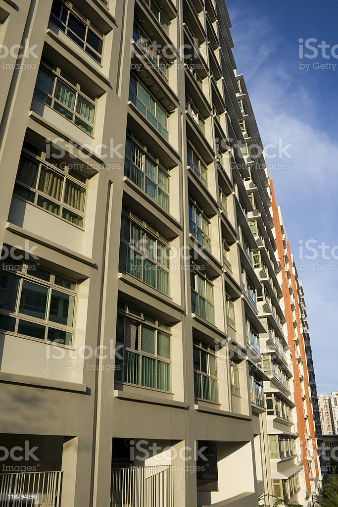 Singapore residential stock photo