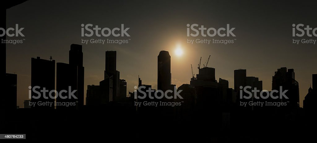 Singapore Skyline Series 2014 royalty-free stock photo