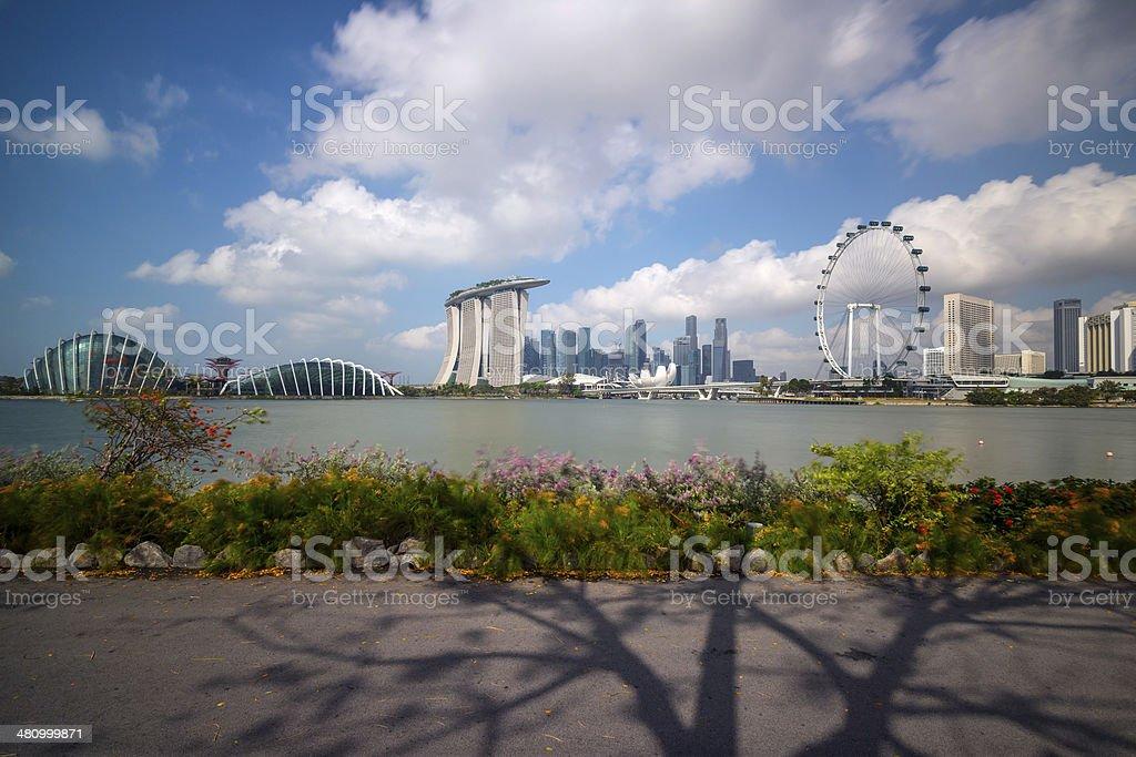 Singapore Skyline Series 2014 stock photo