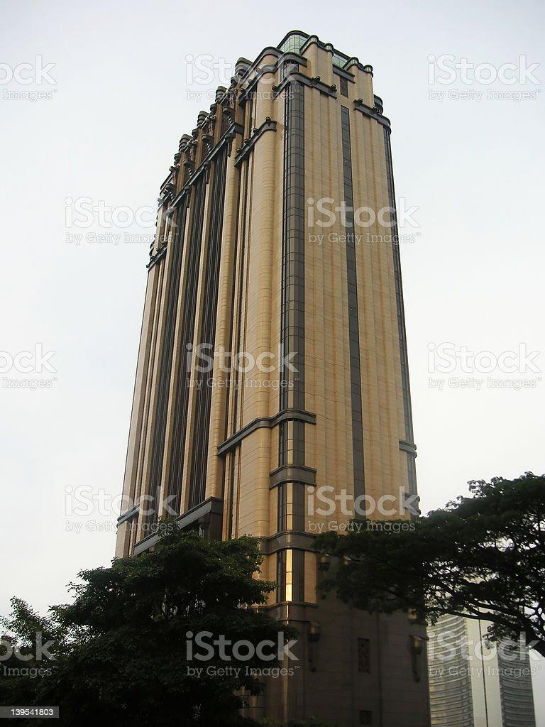 シンガポールの超高層ビル ロイヤリティフリーストックフォト
