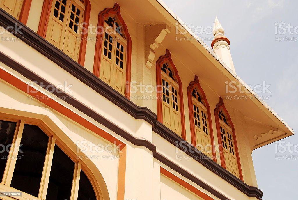 Singapore Sultan Mosque stock photo