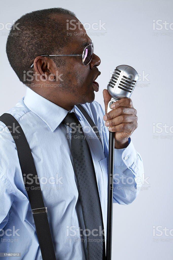 Singer royalty-free stock photo