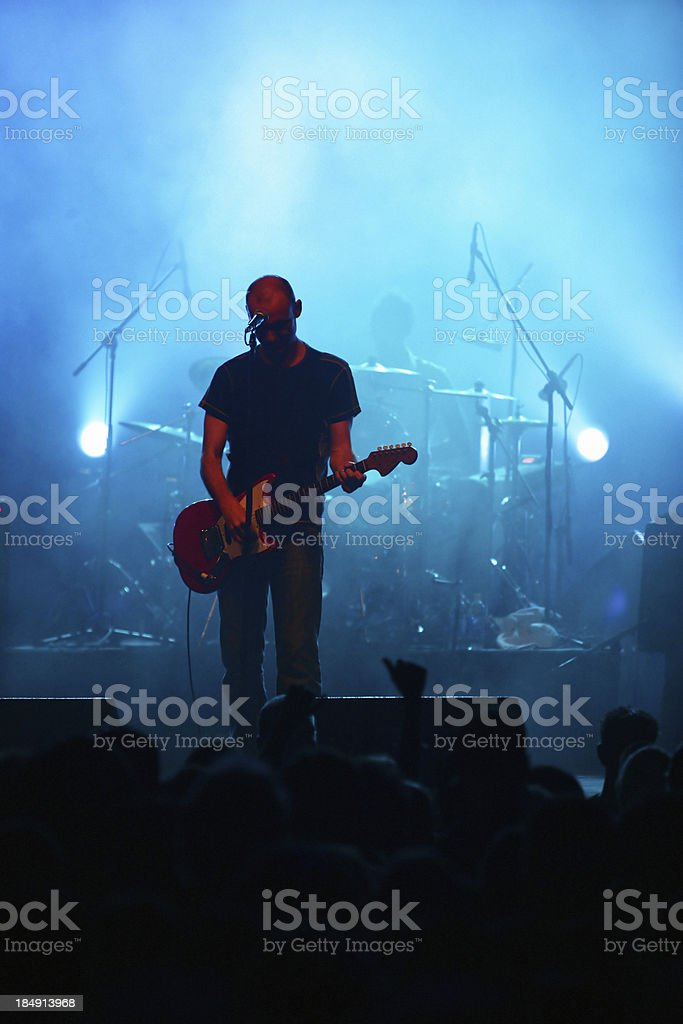 Singer royalty-free stock photo