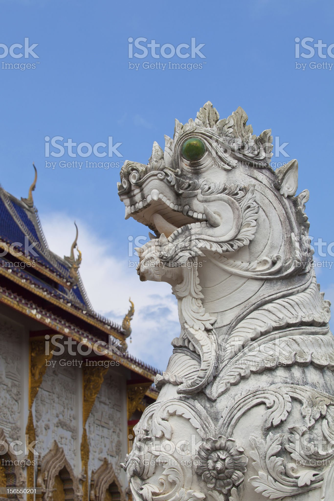 Singha statue royalty-free stock photo