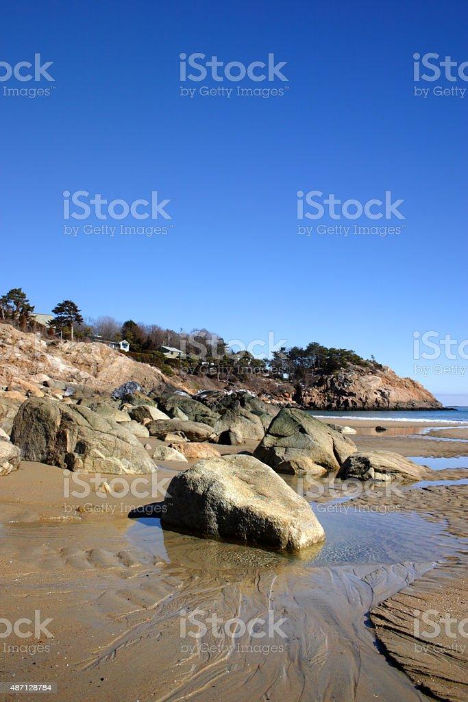 Singing Beach stock photo