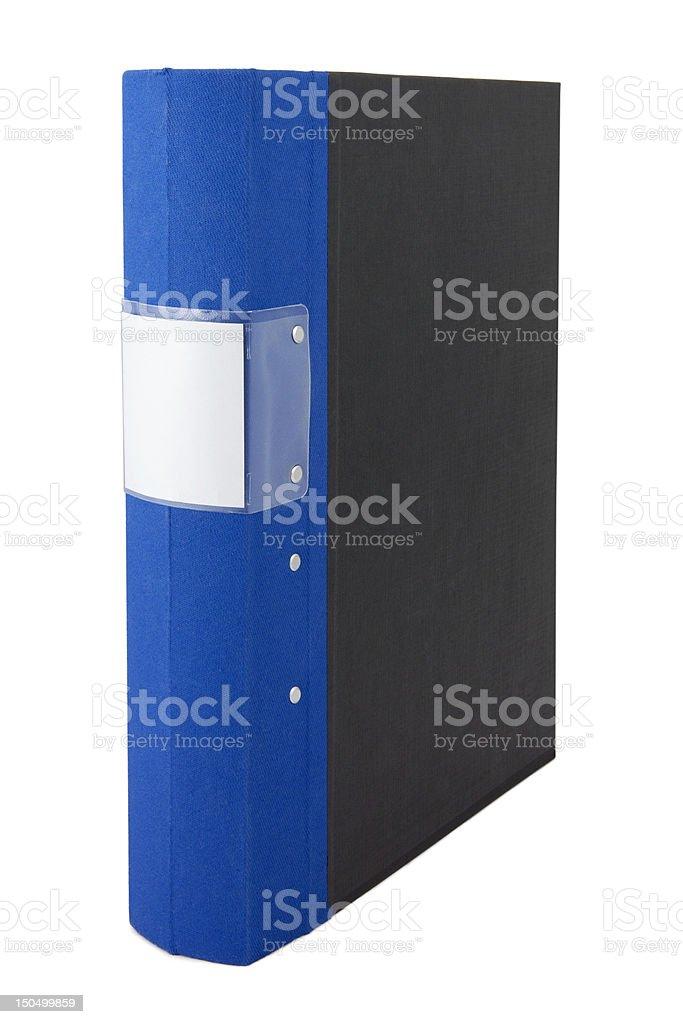 Single binder stock photo