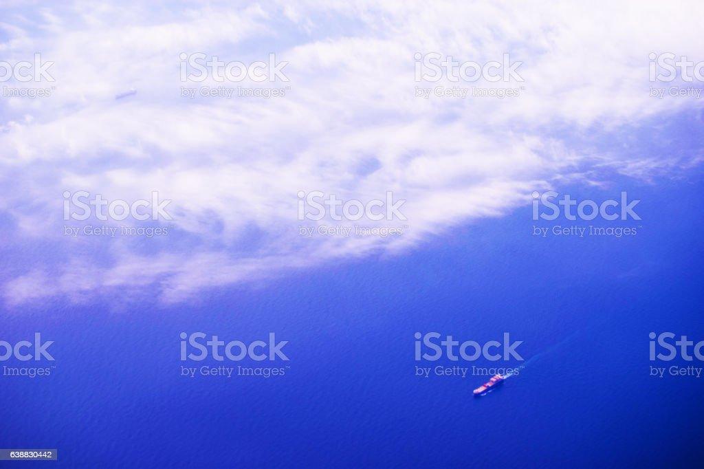 Single Boat stock photo