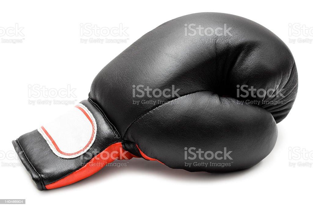 Single Boxing Glove royalty-free stock photo