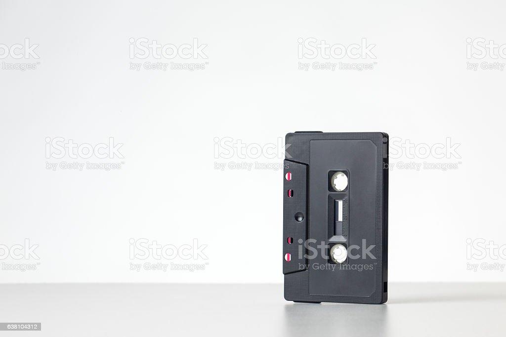 single cassette tape stock photo