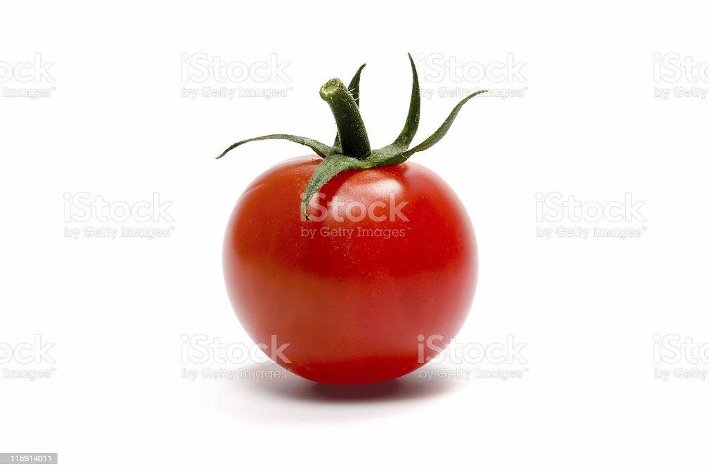 Single Cherry Tomato royalty-free stock photo