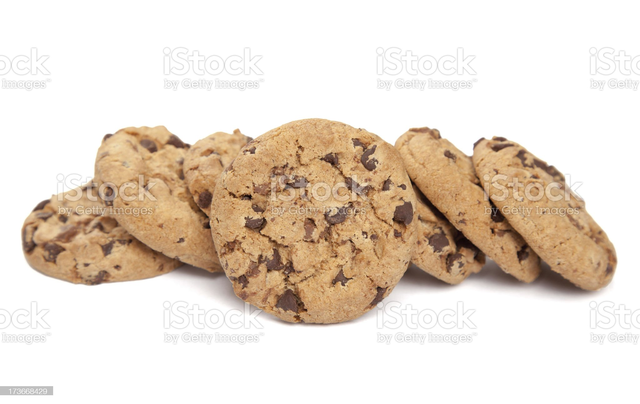 Single cookie and some more royalty-free stock photo
