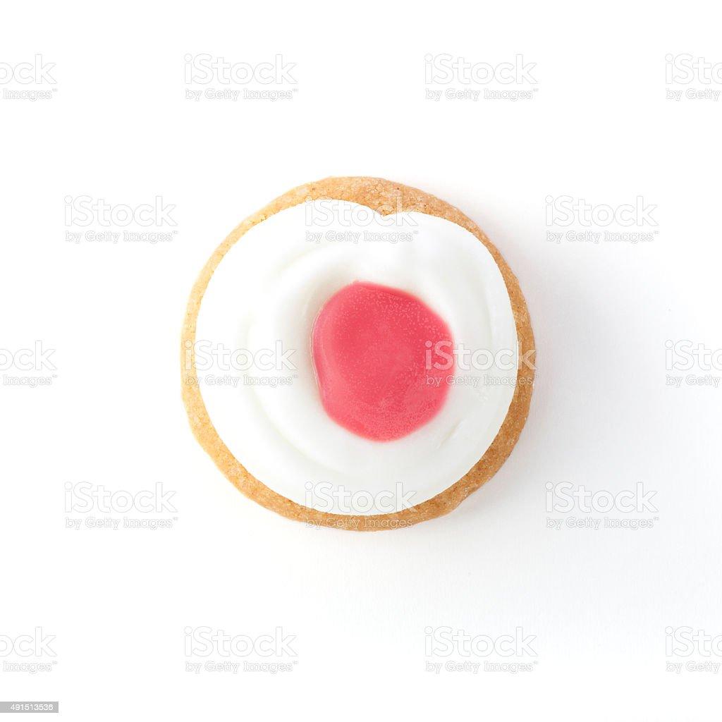 Single Cookie stock photo