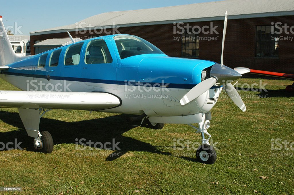 Single Engine Airplane 1 royalty-free stock photo