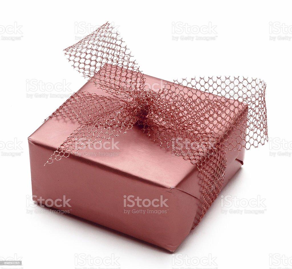 Single gift royalty-free stock photo
