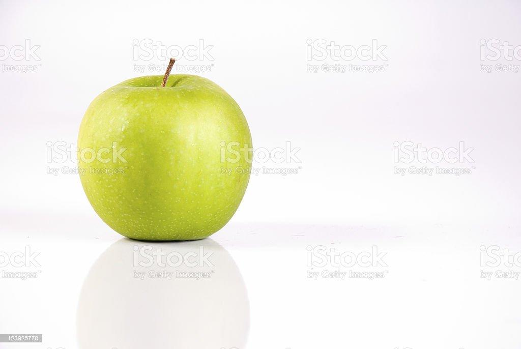 Single Granny Smith Apple royalty-free stock photo