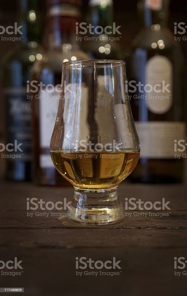 Single Malt Scotch stock photo