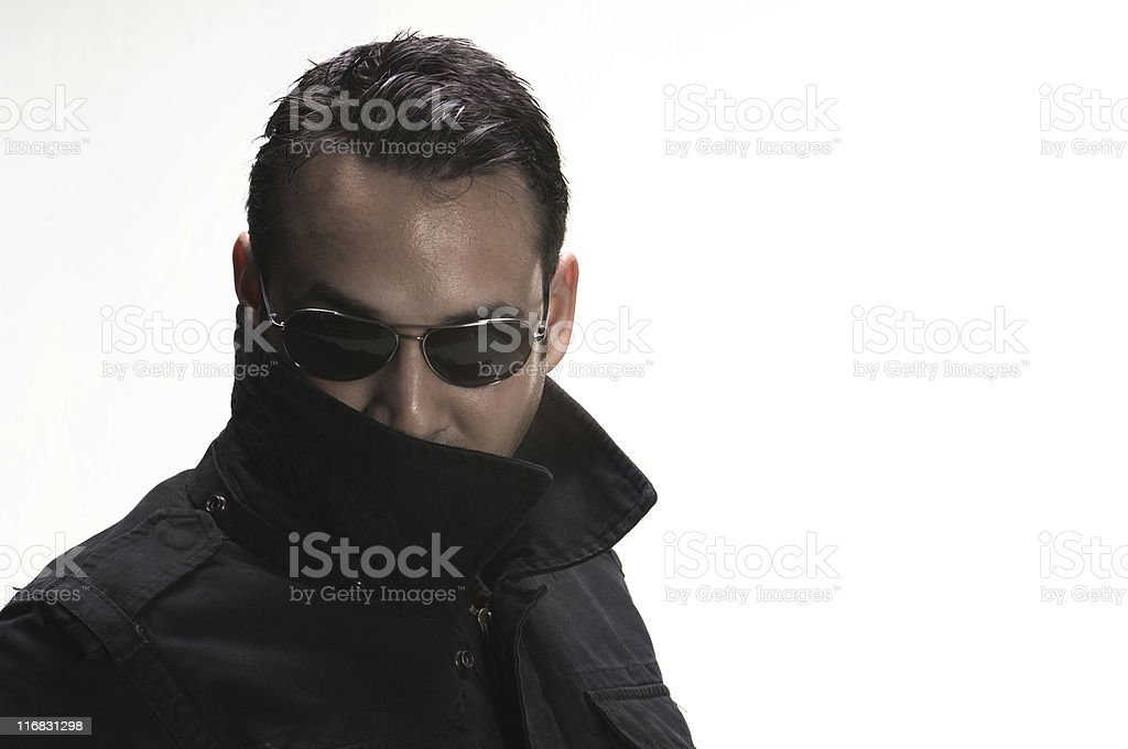 Single Man royalty-free stock photo