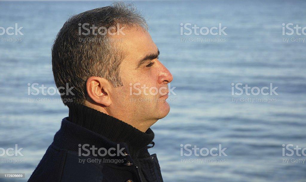 single man royalty-free stock photo