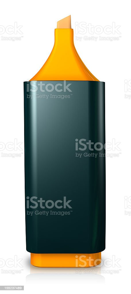 Single Marker royalty-free stock photo