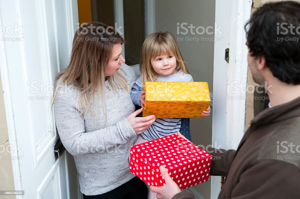 Single Mother Living on the Poverty Line stock photo